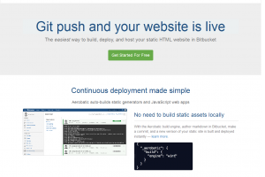 Aerobatic – Static hosting for Bitbucket