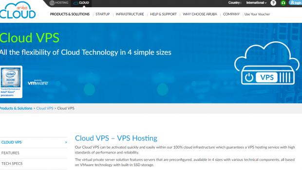 ArubaCloud VPS Hosting