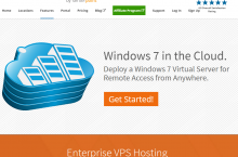 ColossusCloud – Windows 7 VPS and Remote Desktop Hosting