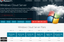 PhotonVPS – Windows VPS Hosting