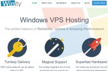 Winity – Budget / Cheap Windows VPS