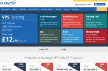 eUKHOST – Microsoft Windows VPS Hosting